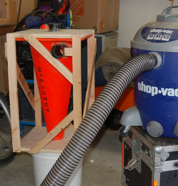 Cyclone Vacuum Add on for Shopvac Updated