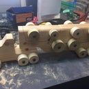 Wooden Toy Hauler ***Updated with template PDF***