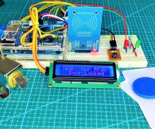 基于RFID的Arduino Uno门锁系统