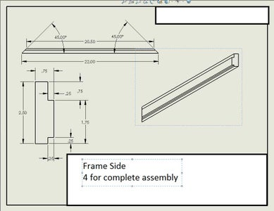 Creating the Wooden Frame