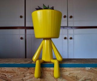 Human Figure Pot
