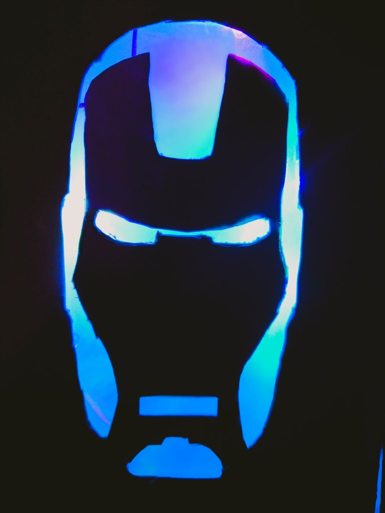 Watch Your Iron Man Glow