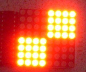 NODEMCU LUA ESP8266 with MAX7219 and 8x8 LED Matrix