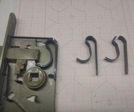 Fix a Door Spring With 3D Printing
