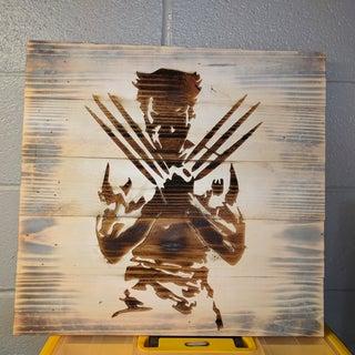 Logan Wall Art - Pallet Wood