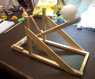 Ping Pong Ball Catapult