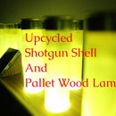 Upcycled Shotgun Shell and Pallet Wood Lamp