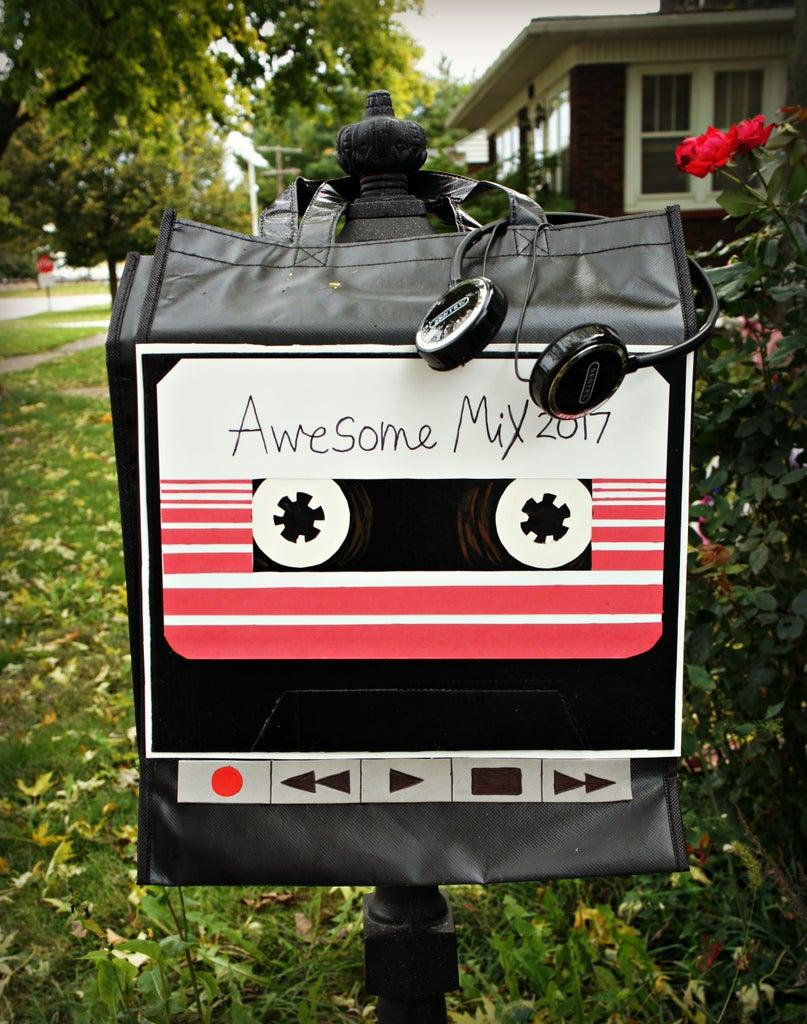 Walkman/ Awesome Mix Tape Trick or Treat Bag