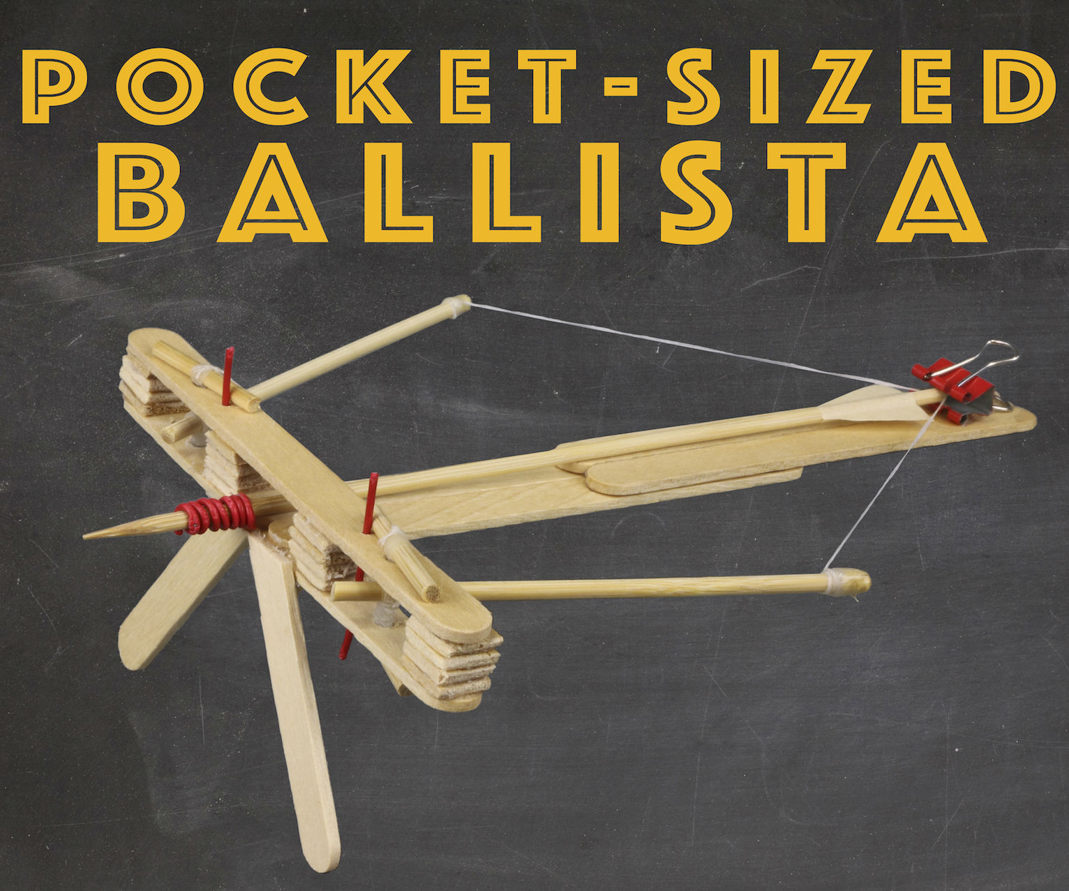 Pocket-Sized Ballista