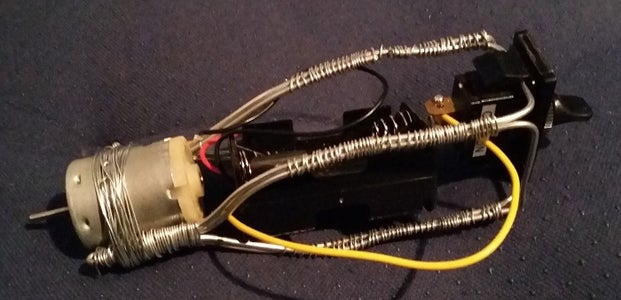 Attach the DC Motor to the Structure