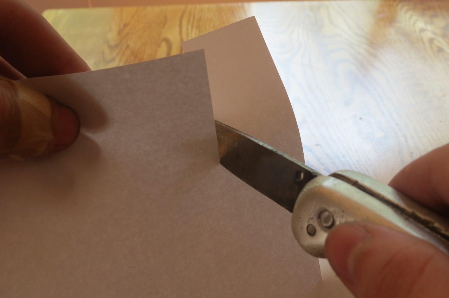 Folding Knife With Aluminium Handle