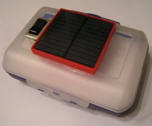 Solar Heated/cooled Lunch Box