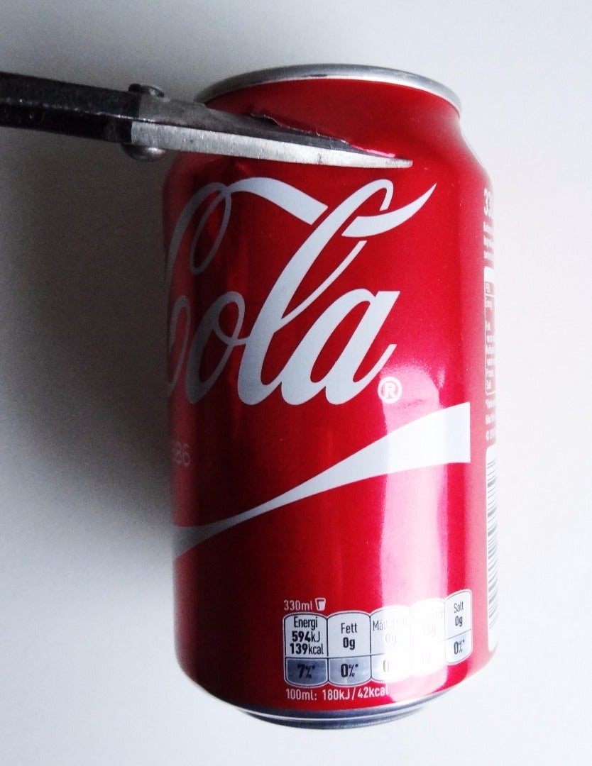 Remove the Top and Bottom of Your Can