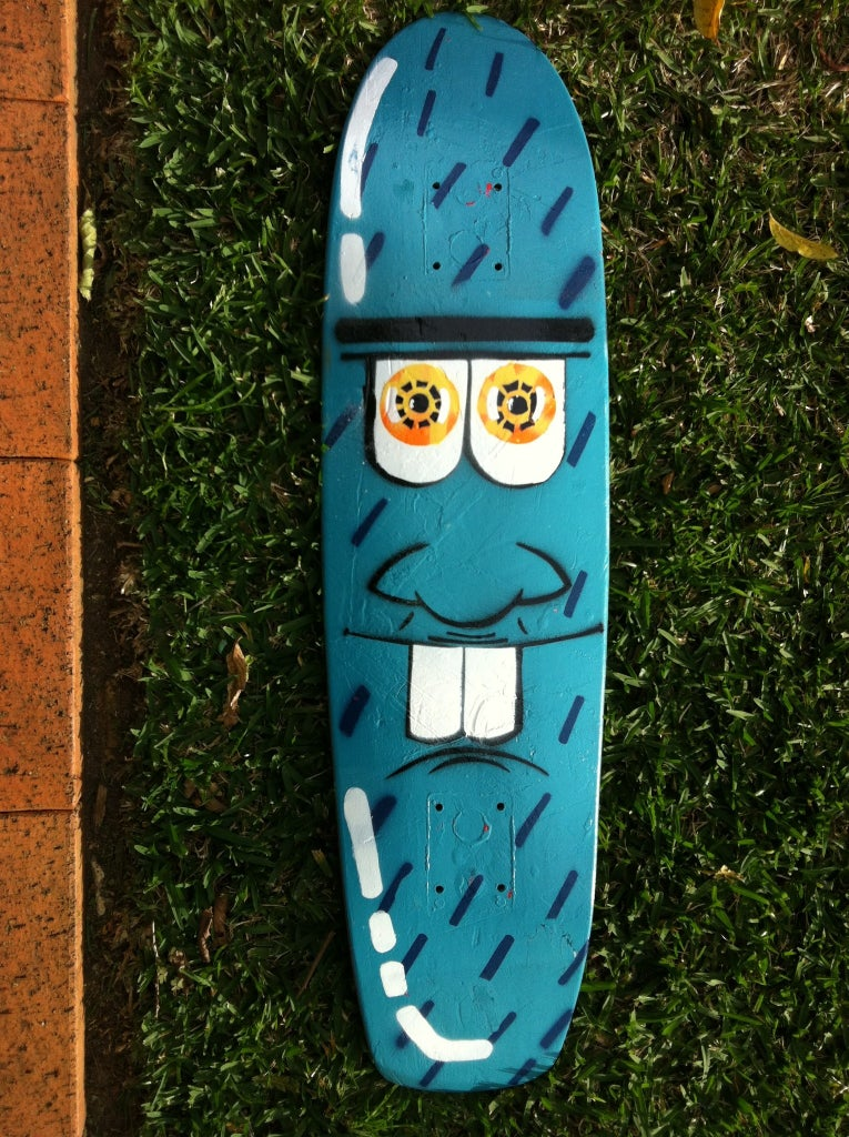 How To Paint A Skate Deck 20 Steps With Pictures Instructables