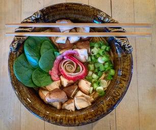 Fancy Vegetarian Ramen