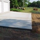 Apron Prep and Pour – Adding a Larger Apron to Our Garage