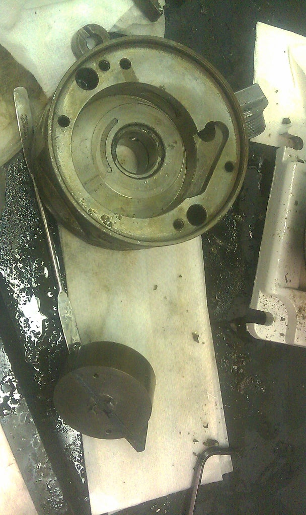 Cleaning the Pump (Second Stage)