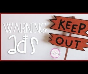 Halloween Warning Ads