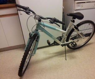 Custom Glow Bike