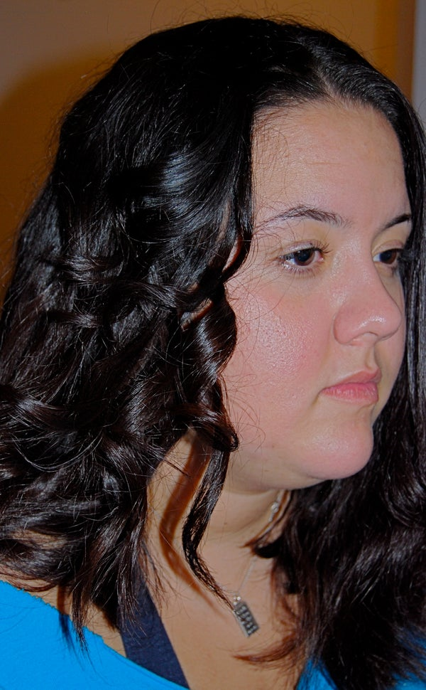 How to Curl Your Hair With a Flat Iron - Revised and Improved!