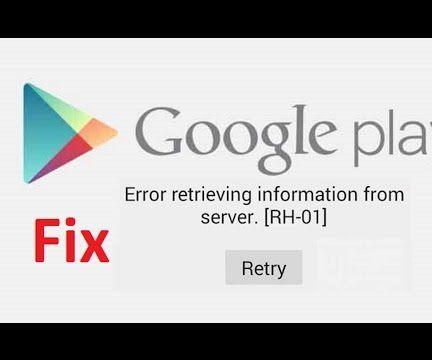 Fix error retrieving information from server rh-01!!