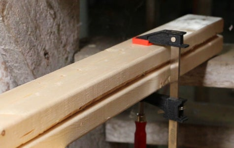 Cut the Workbench Legs and Supports