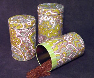 Loose Leaf Tea Canisters
