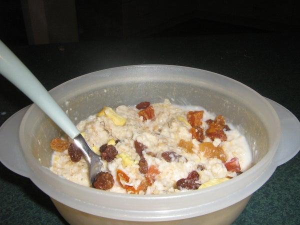 Super Easy Two Minute Porridge