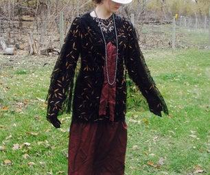 No-Sew 1920s Dress Costume