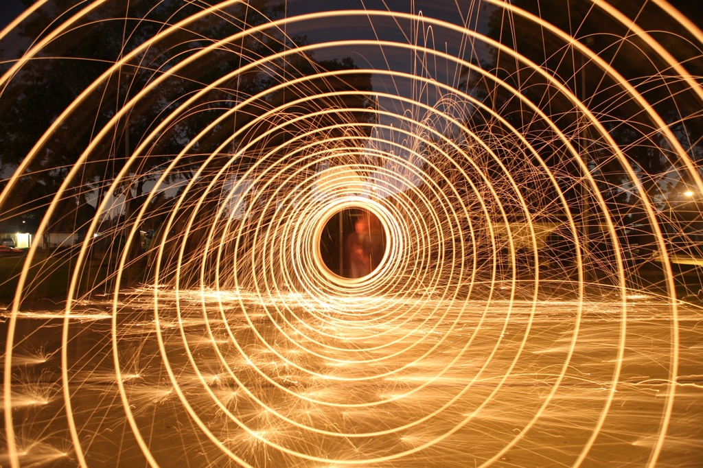HOW TO: SPIRAL STEEL WOOL PHOTOGRAPHY