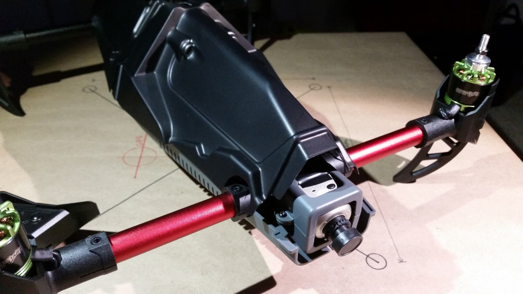 Attach the Front Upper Shell/Camera Cover