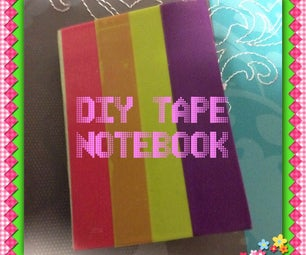 DIY Tape Notebook