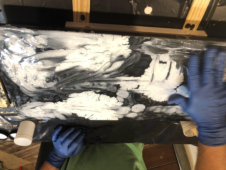 Step 5:  Spray Paint Method
