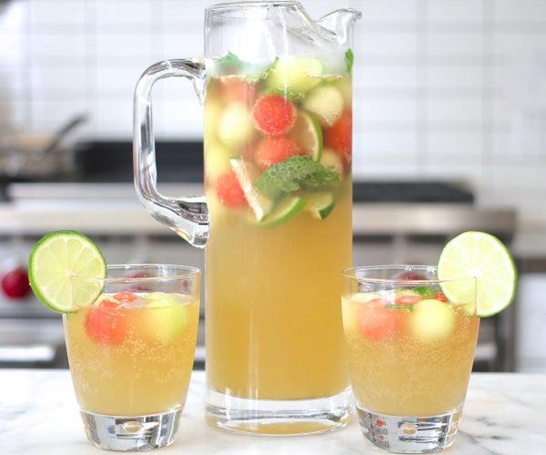 Melon Ball Punch Recipe