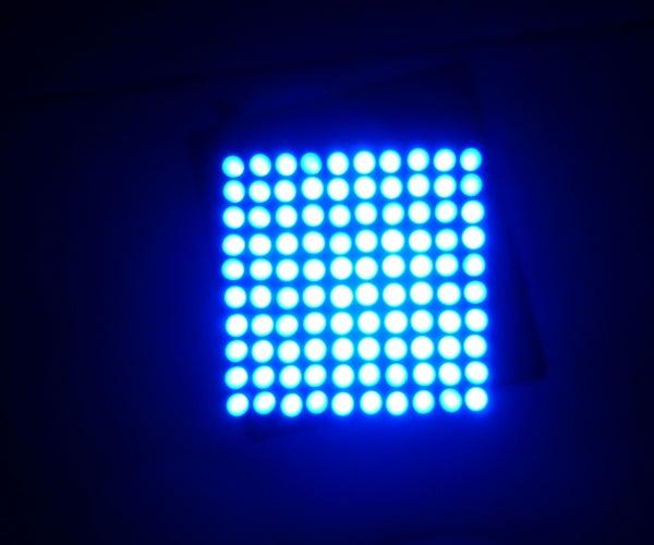 Joule Thief 10x10 LED Lamp