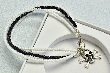 Beebeecraft Tutorials on How to Make Three Strings Pearl Beads Bracelet