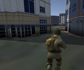 A First Person Shooter Game Using Realtime Map Locations