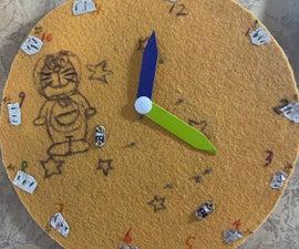 Paper Clock