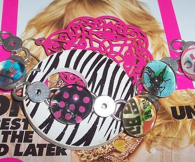 Make Your Own Glass Glob Bracelet