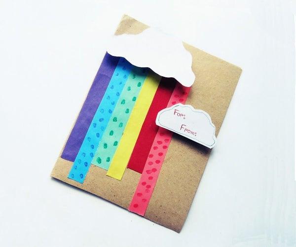 Summer Holiday Rainbow Card