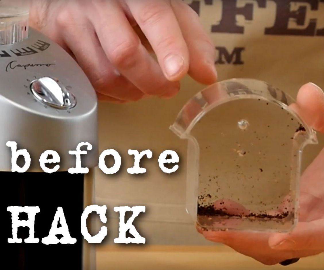 Simple Hack to Remove Static in the Coffee Grinder