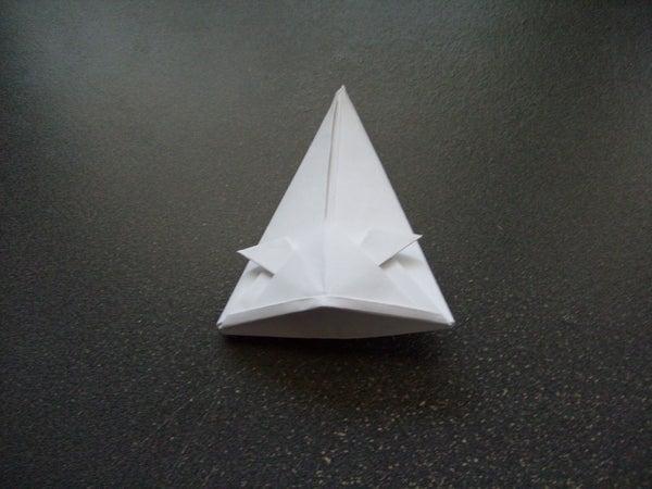 Origami Tall Samurai Helmit or Hat