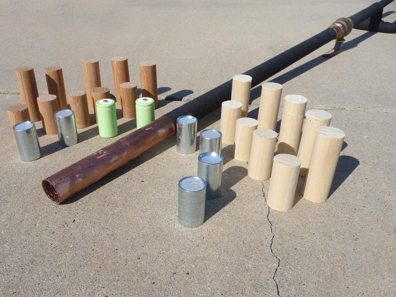 High Pressure Metal-Slug Cannon