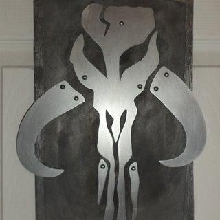 Star Wars Mandalorian Steel Art