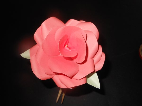 How to Create a Paper Rose
