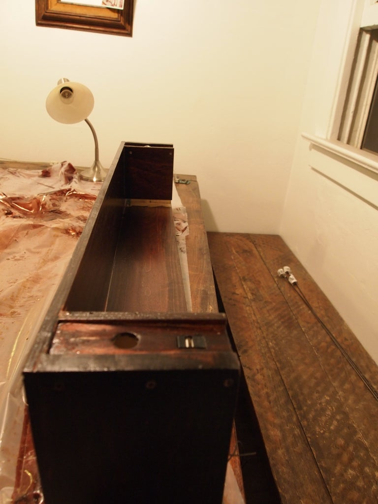 Construction - Staining and Assembly