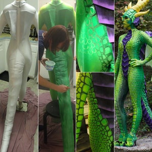 Dye and Paint a Body Suit