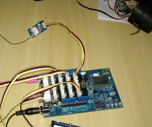GPS Car Tracker With Intel Edison