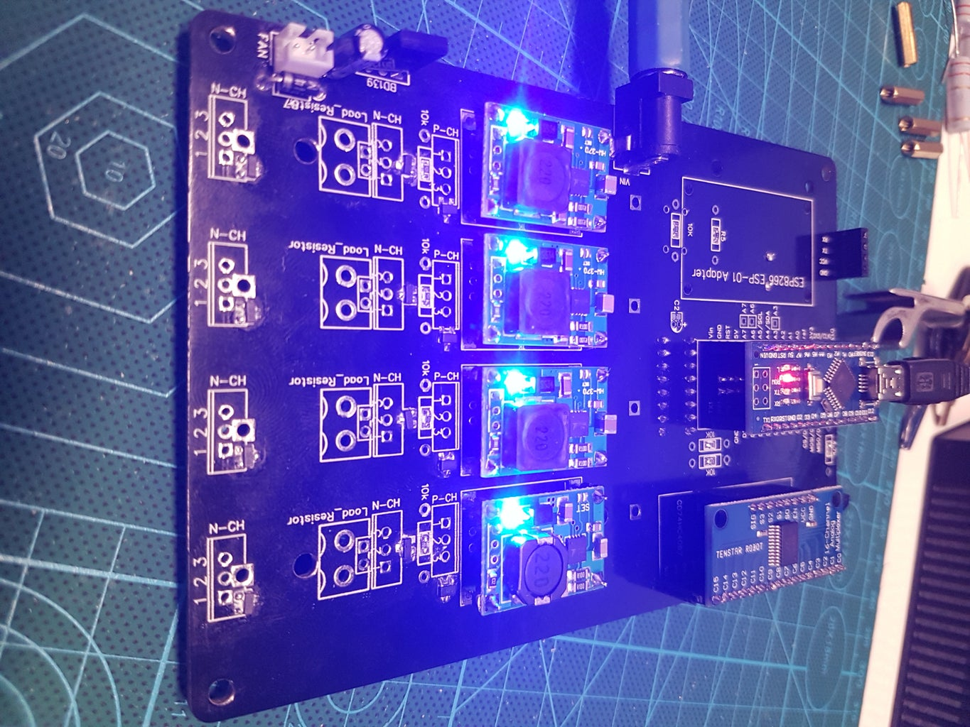 Install and Test the TP5100 Charging Modules