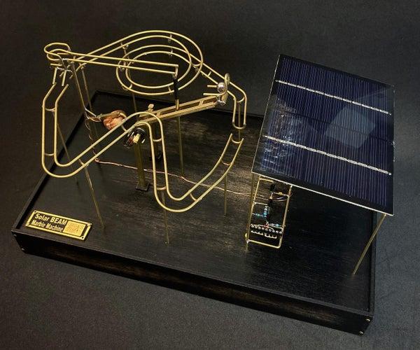 Solar BEAM Marble Machine